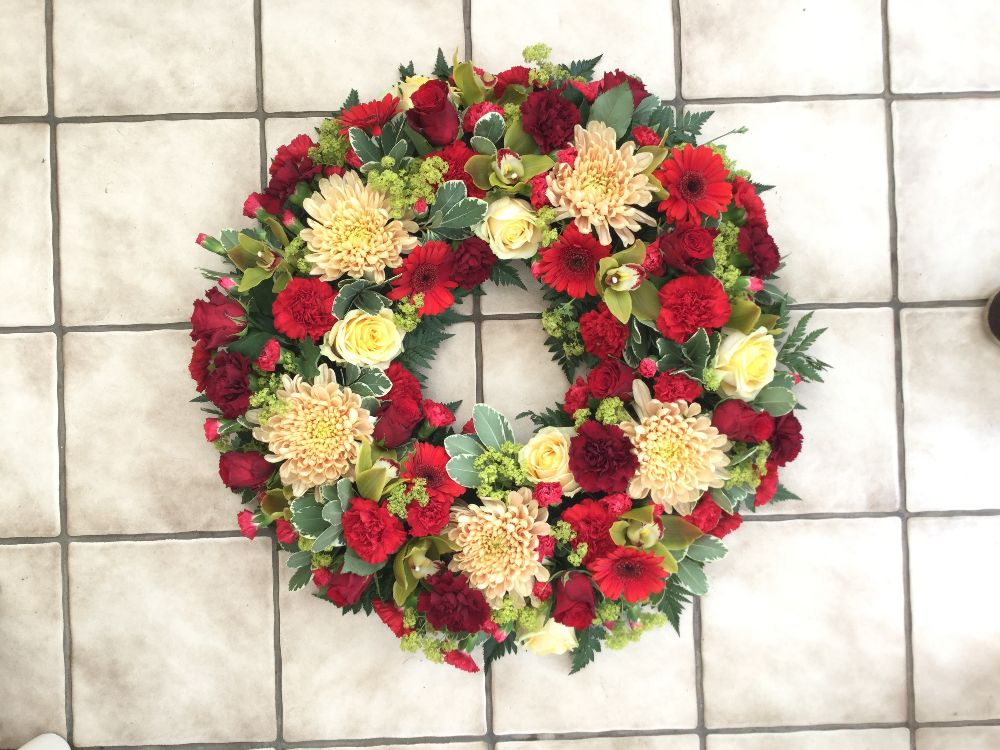 Loose style wreath